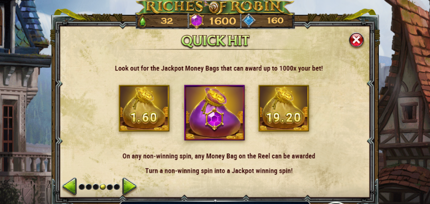 Riches of Robin - features